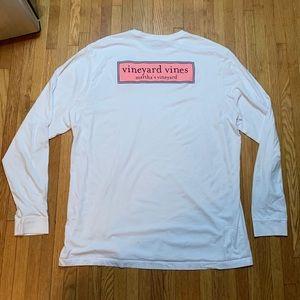 Vineyard Vines Shirts - Mens White XL Vineyard Vines Long Sleeve Tee